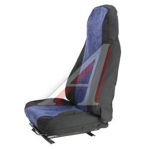 Авточехлы SCANIA 5 series М-4 жаккард (2 высоких сиденья) черно-синие SCANIA 5-серия Чер-Син (2высоких)