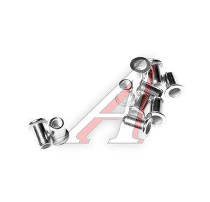 Заклепка 6мм алюминиевая для заклепочника JTC-5821 10шт. JTC JTC-5821N6, JTC-5821-M6