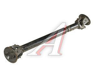 Вал карданный КРАЗ-255Б,250 промежуточный заднего моста (8 отверстий) L=1251мм 255Б-2204010-06