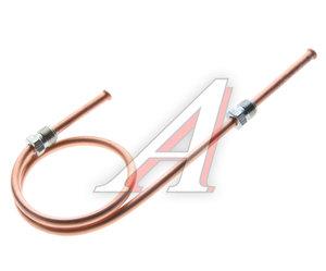 Трубка тормозная УРАЛ ко 2-му главному тормозному цилиндру в сборе L=440мм/d=6мм медь (ОАО АЗ УРАЛ) 375-3506005-Б