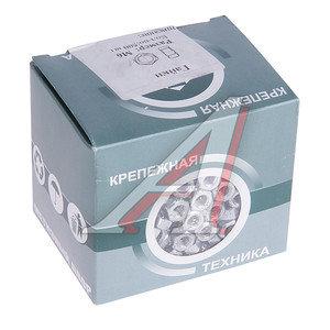 Гайка М6х1.0х5.2 шестигранная (500шт.) МЕТИЗНЫЙ ДВОР DIN934, DIN 934 коробка окно