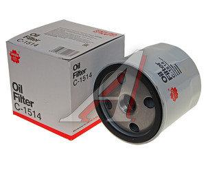 Фильтр масляный DAEWOO Nexia CHEVROLET Lanos SAKURA C1514, OC90, 96879797/96395221/93745067