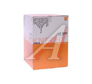 Фильтр воздушный BMW 1 (E81,E87) (04-),3 (E90) (05-) MAHLE LX1651, 13717532754