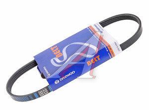 Ремень приводной поликлиновой 4PK665 CHEVROLET Aveo (06-) DAEWOO 25183061, 4PK665