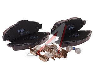 Колодки тормозные PEUGEOT 308 (07-), 3008 (09-) передние (4шт.) TRW GDB1761, 425426/425393