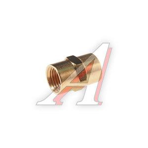 """Переходник для компрессора F1/4""""х1/4"""" соединитель внутренняя резьба в блистере ROCK FORCE RF-FF04/04"""