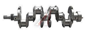 Вал коленчатый ЗИЛ-5301 под 2 шпонки,шлиц (7 отверстий) ММЗ 245-1005015-А, 245-1005015