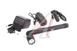 Фонарь ручной аккумуляторный алюминиевый UNIEL P-ML078-BA Black