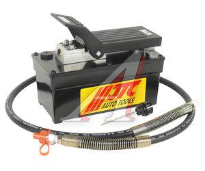 Насос гидравлический с пневмоприводом 257х127х204мм, емкость 1600куб.см JTC JTC-8P120