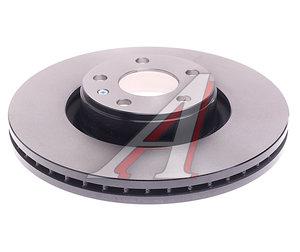 Диск тормозной AUDI A6 (06-11) передний (1шт.) TRW DF4358S, 4F0615301E