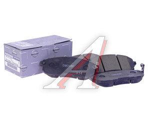 Колодки тормозные NISSAN Teana J31 передние (4шт.) (ЗАМЕНА НА D1060-JN01A) OE D1060-JN00A, GDB3390