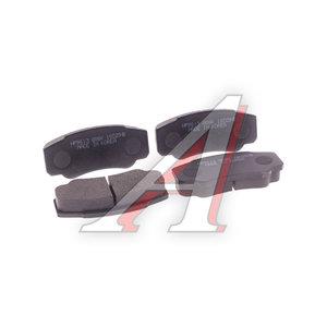Колодки тормозные PEUGEOT Boxer CITROEN Jumper FIAT Ducato (94-) задние (4шт.) HSB HP9613, GDB1521, 4254.68
