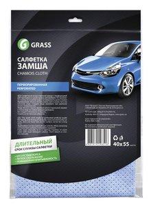 Салфетка замша синтетическая универсальная 40х55см GRASS GRASS, IT-0321