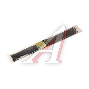 Хомут-стяжка 450х5.0 пластик черный (25шт.) ЭВРИКА ER-15452, CHS-5x450B-25
