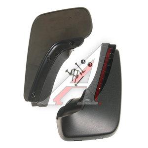Брызговик AUDI A6 (04-) задний комплект 2шт. OEM 4F0075101