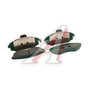 Колодки тормозные SSANGYONG Rexton (02-) передние (4шт.) OE 4813008152