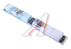 Шторка автомобильная для боковых стекол 70х47см ролик черная 2шт. VESTITO 1702335-176 BK