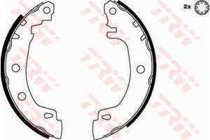 Колодки тормозные RENAULT Megane задние барабанные (4шт.) TRW GS8616