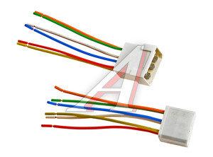 Разъем соединительный 6.3мм 6-клеммный (м+п) в сборе с проводами АЭНК КЛ067, 9095