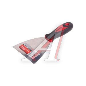 Шпатель 100мм нержавеющий с пластмассовой ручкой MATRIX 85510