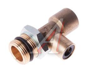Соединитель трубки ПВХ,полиамид d=8мм-12мм (наружная резьба) М22х1.5 тройник металл CAMOZZI 9422 12-8-M22X1.5