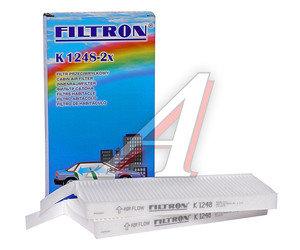Фильтр воздушный салона RENAULT Kangoo 2,Master,Movano K1248-2X, LA468/S