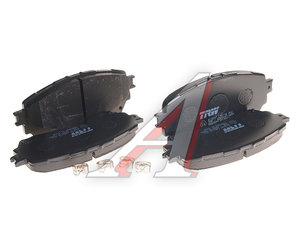 Колодки тормозные MAZDA 6 (12-) передние (4шт.) TRW GDB3580, G4YA-33-28ZA