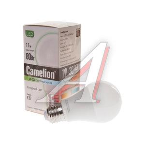 Лампа светодиодная E27 A60 11W (80W) холодный CAMELION Camelion LED11-A60/845/E27, 12036