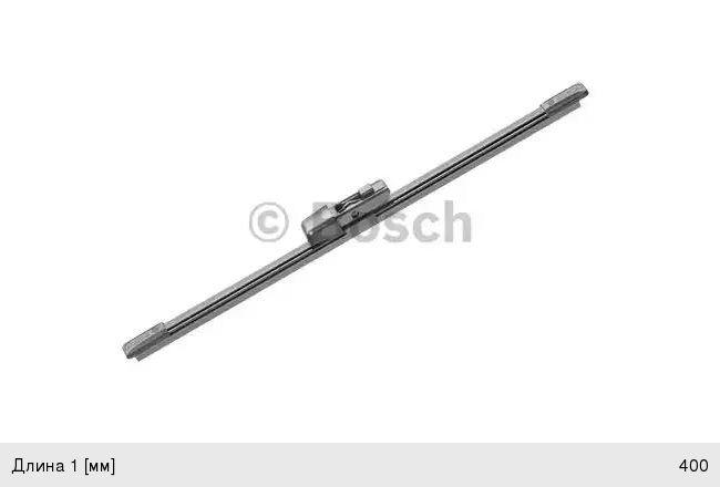 Щетка стеклоочистителя 400мм задняя SKODA Octavia (12-)Rear BOSCH 3397008998, 3T9955425