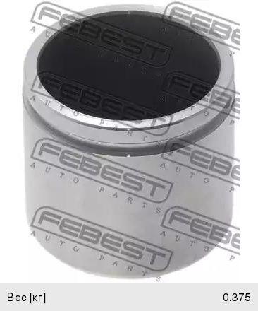 Поршень MAZDA 6 суппорта тормозного переднего FEBEST 0576-GG20F