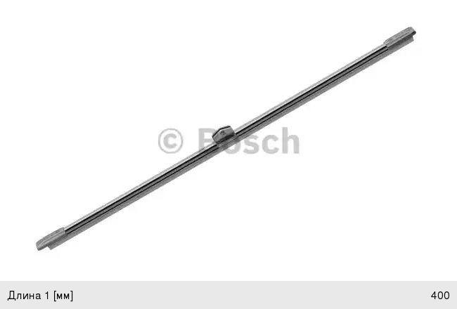 Щетка стеклоочистителя 400мм задняя CITROEN C5 (04-08)Rear BOSCH 3397008047, 6426.XT