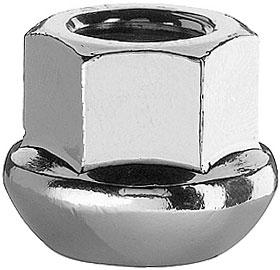 Гайка колеса со сферической прижимной поверхностью
