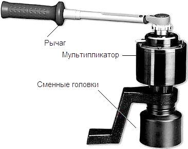 Общая схема механического гайковерта