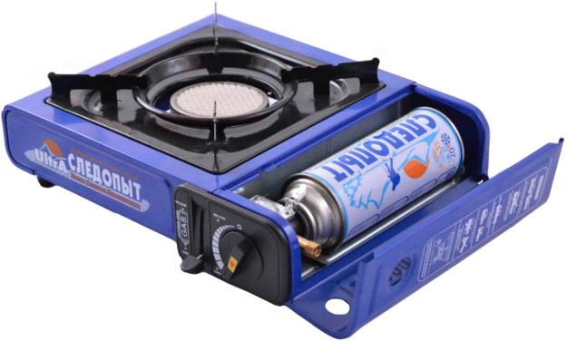 Портативная газовая плита с керамической (инфракрасной) горелкой
