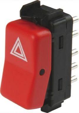 Клавишный выключатель аварийной сигнализации