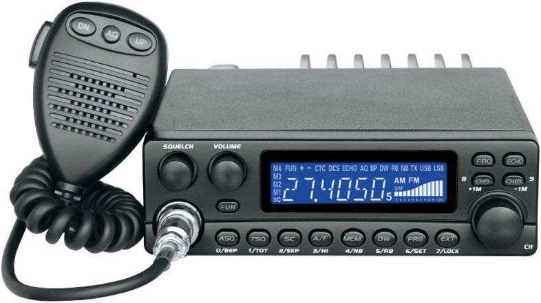 Радиостанции гражданского диапазона CB