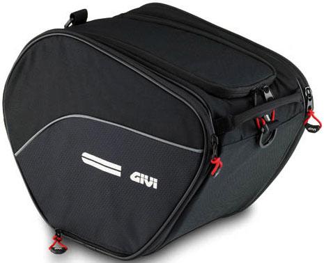Мягкий кофр (багажник-сумка) для крепления на туннеле скутера