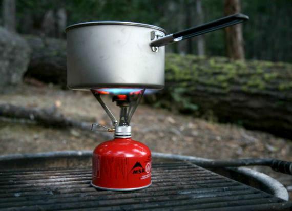 Газовая горелка или портативная плита