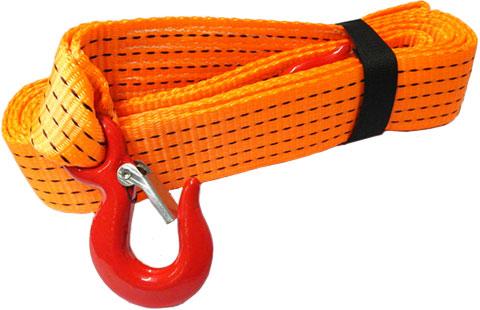 Буксировочный трос - текстильная лента с крюками