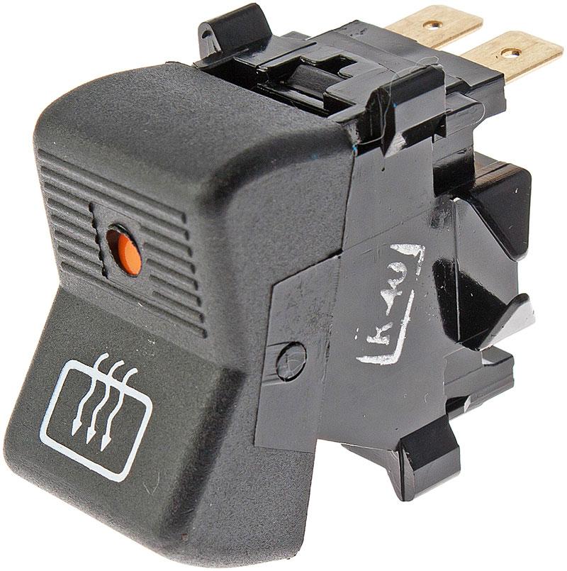 Клавишный выключатель обогрева заднего стекла со световой индикацией состояния