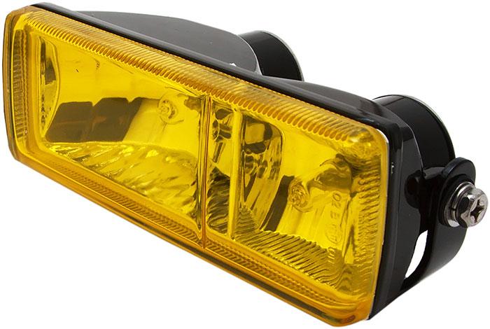 Желтые противотуманные фары
