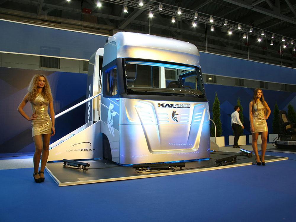 Концепт кабины «КАМАЗ-2020»