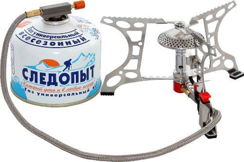 Газовая горелка со шлангом для подключения к баллону