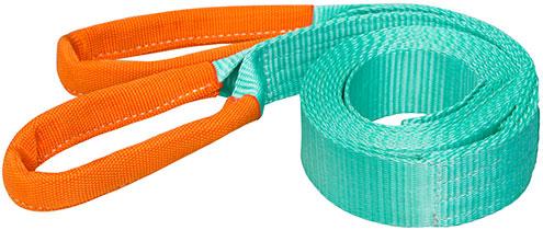 Буксировочный трос - текстильная лента с мягкими петлями