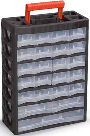 Ящик для крепежа - вертикальный органайзер